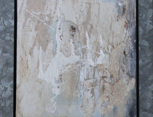 Maleri i zink ramme